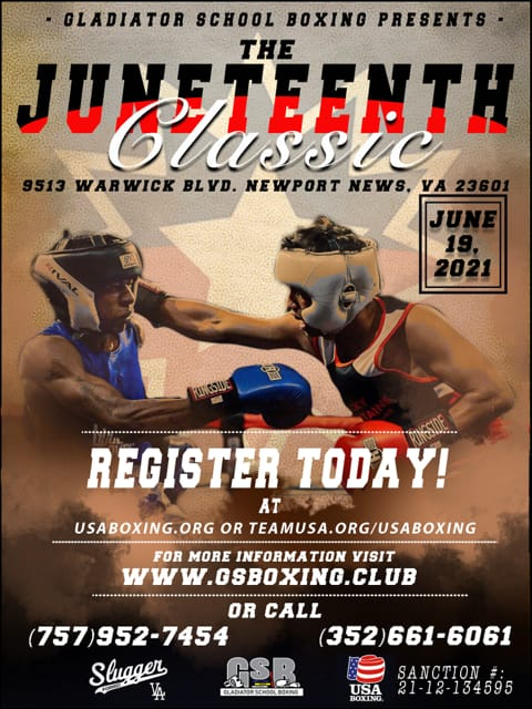 Juneteenth Boxing Event - Gladiator School Fighters