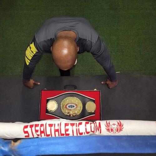 Ian Garrett Boxing Belt