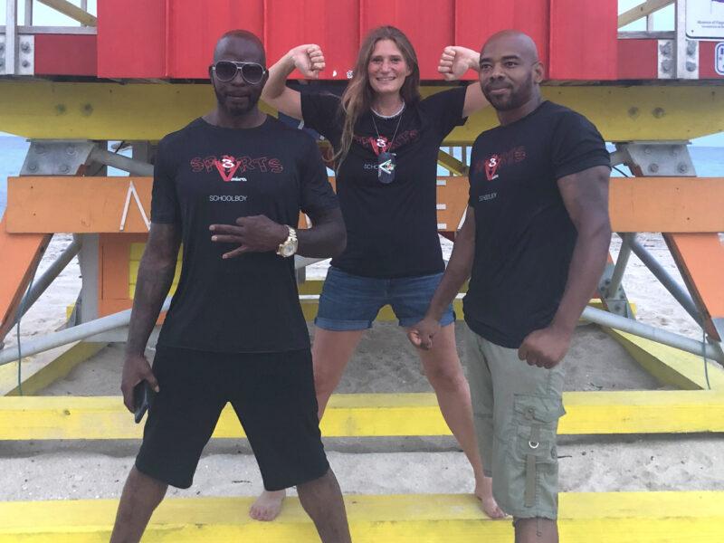 "Miami Beach - Fight Life Scene Interview with NBA Boxing Champion - Ian ""Schoolboy"" Garrett - Galadriel and Spirit with Ian"