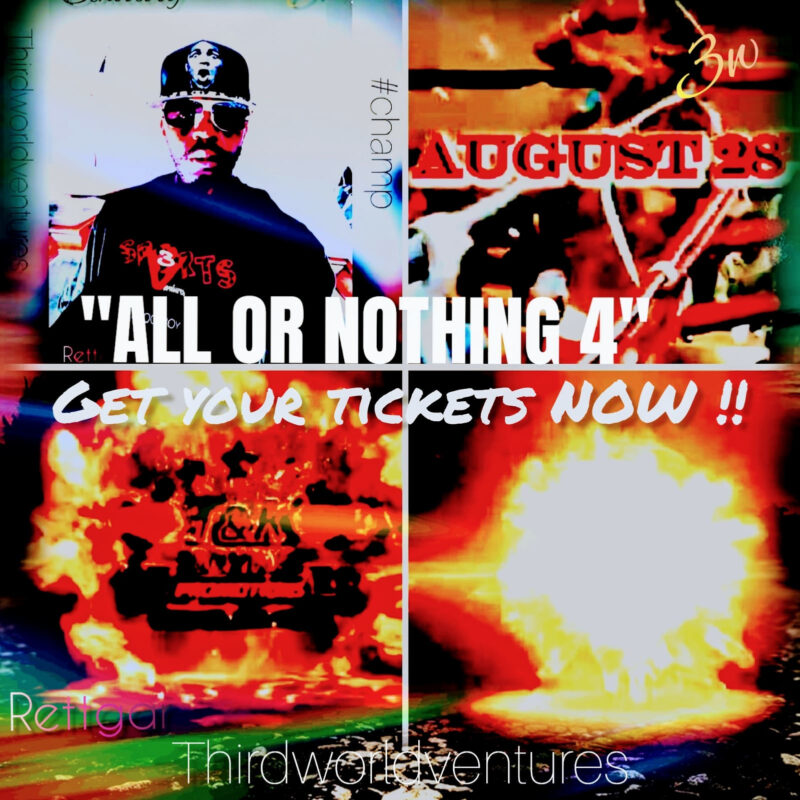 Tickets - Florida Boxing Event - All Or Nothing 4 - T&K Promotions